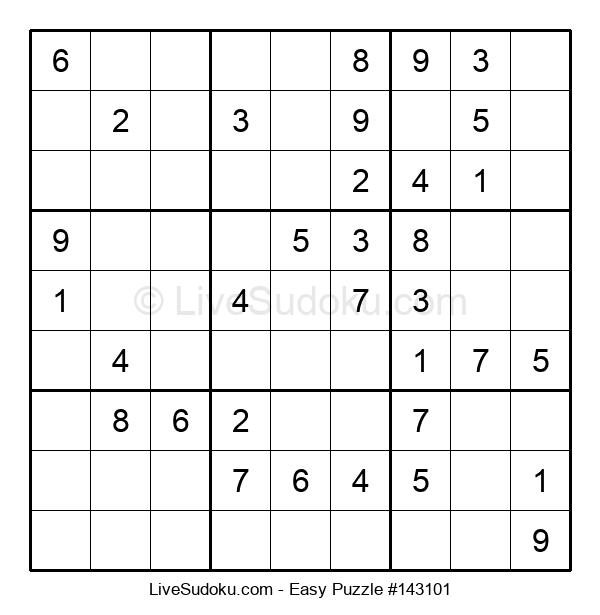 Beginners Puzzle #143101