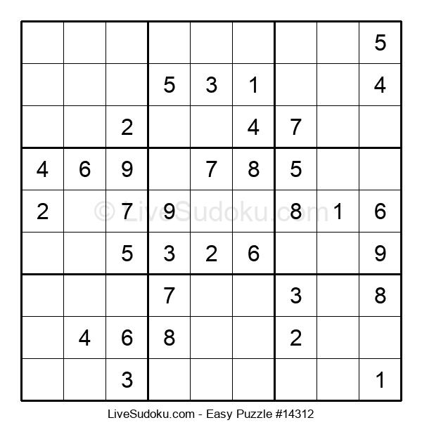 Beginners Puzzle #14312