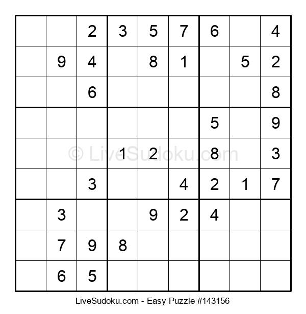 Beginners Puzzle #143156