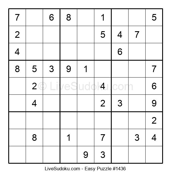 Beginners Puzzle #1436