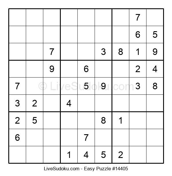 Beginners Puzzle #14405