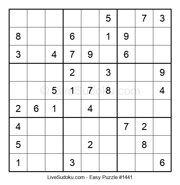 Beginners Puzzle #1441
