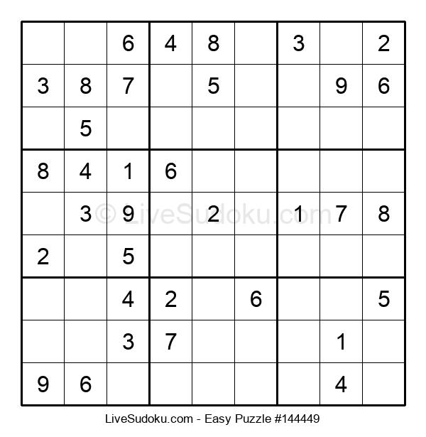 Beginners Puzzle #144449