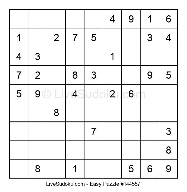 Beginners Puzzle #144557