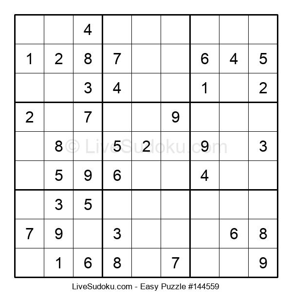 Beginners Puzzle #144559