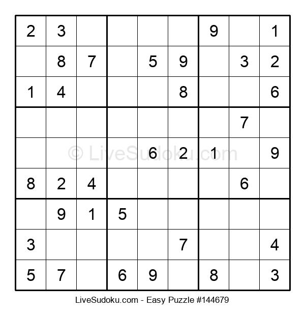 Beginners Puzzle #144679
