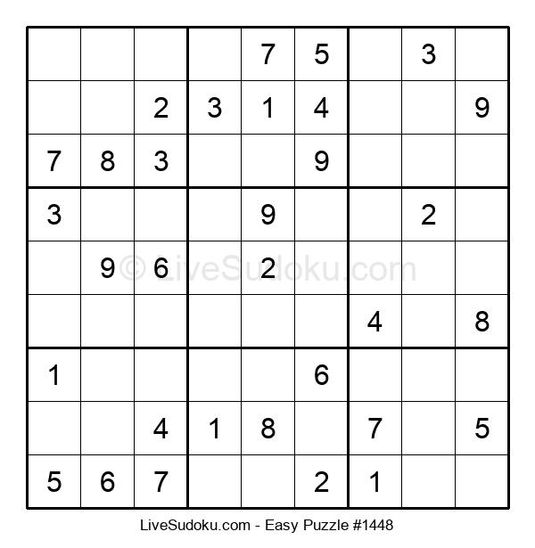 Beginners Puzzle #1448
