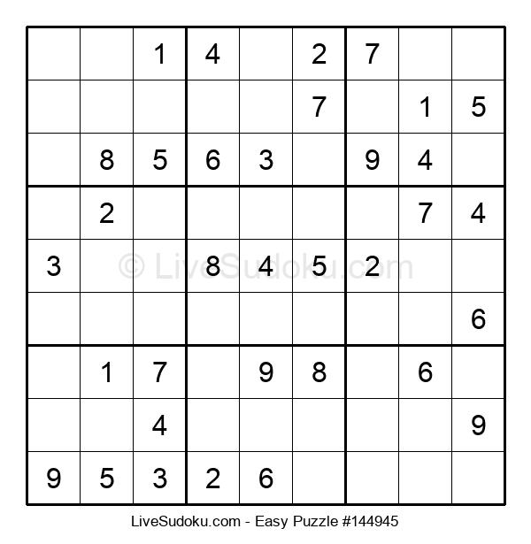 Beginners Puzzle #144945