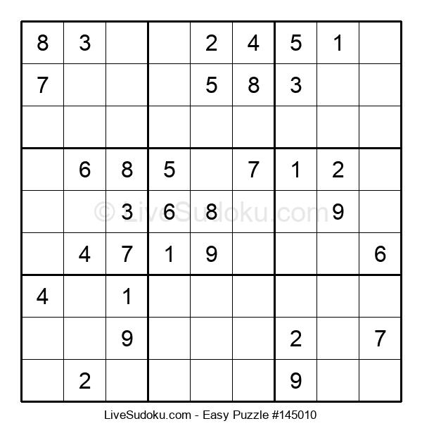 Beginners Puzzle #145010