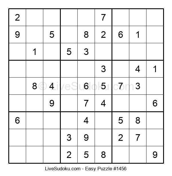 Beginners Puzzle #1456