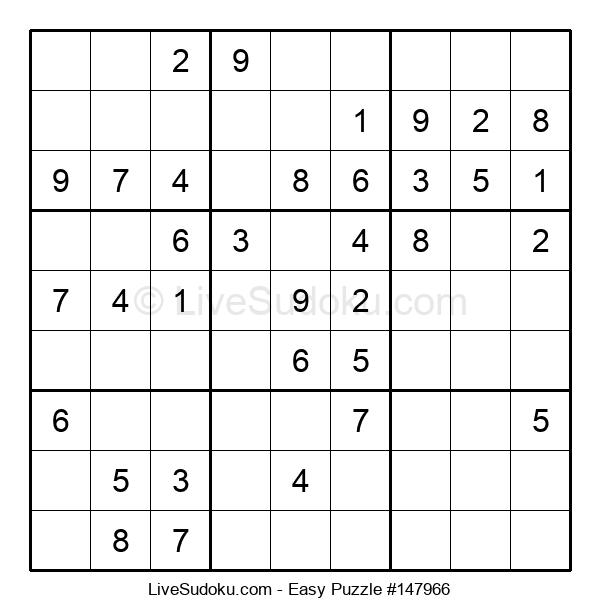 Beginners Puzzle #147966