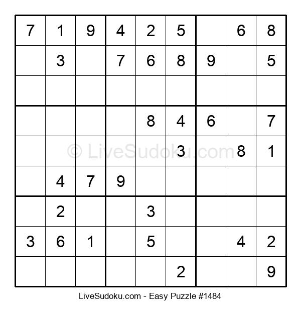 Beginners Puzzle #1484