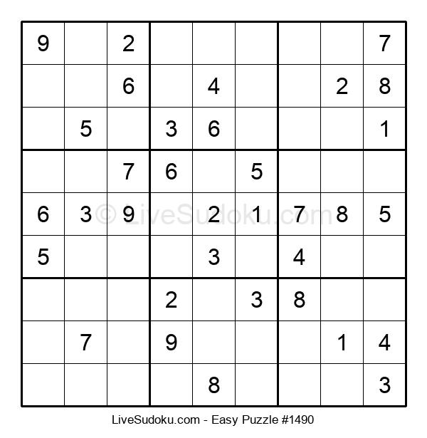 Beginners Puzzle #1490