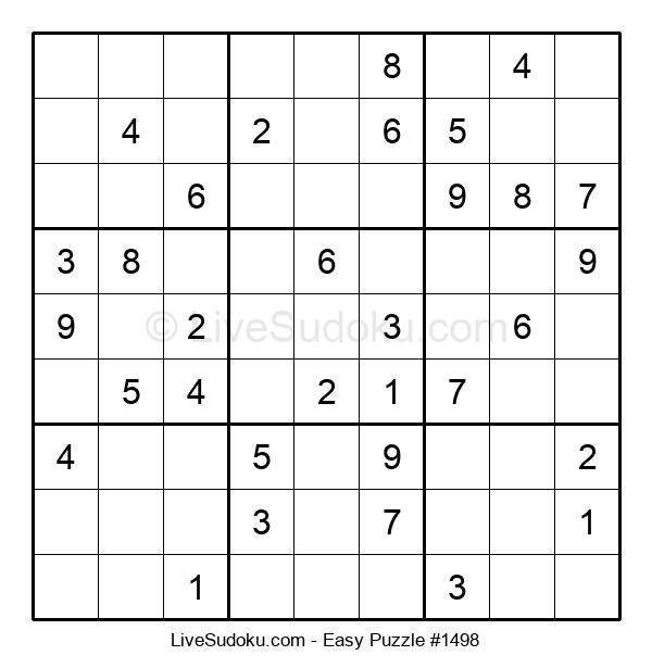 Beginners Puzzle #1498