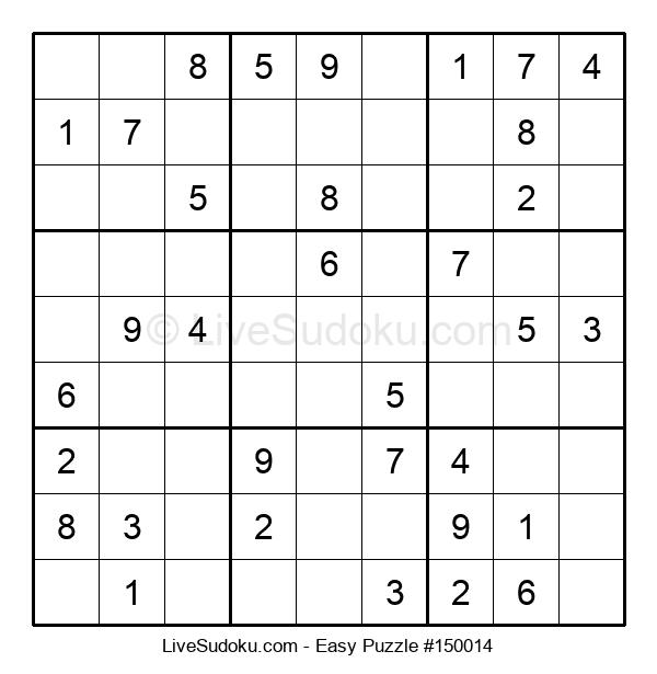 Beginners Puzzle #150014
