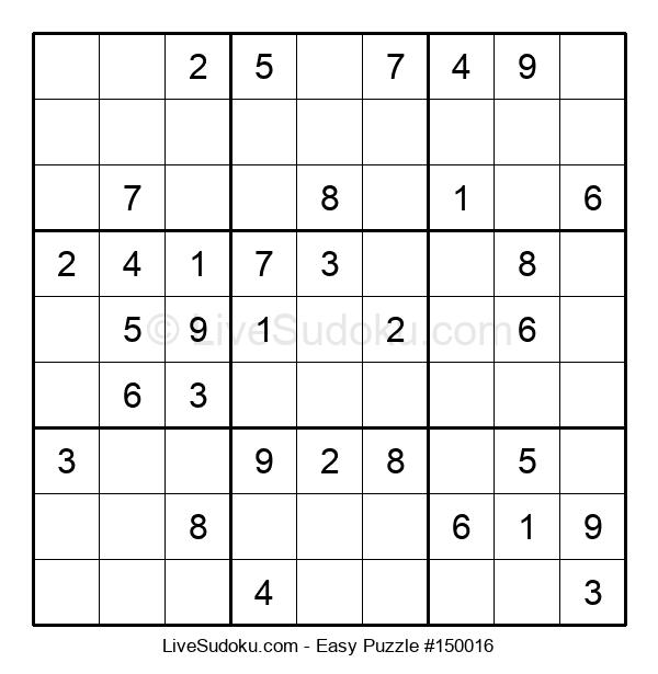 Beginners Puzzle #150016