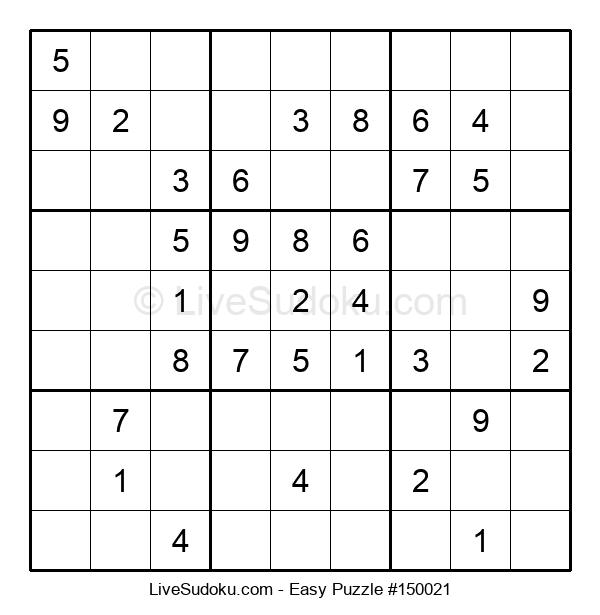 Beginners Puzzle #150021
