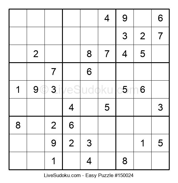 Beginners Puzzle #150024