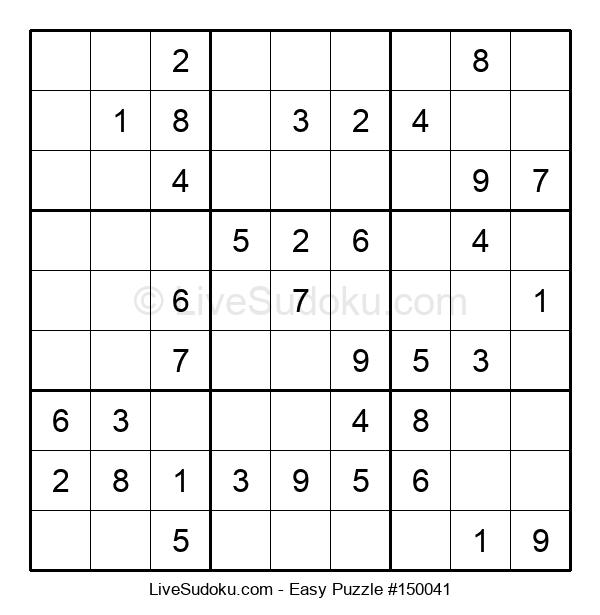 Beginners Puzzle #150041