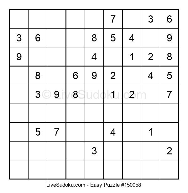 Beginners Puzzle #150058