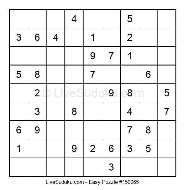 Beginners Puzzle #150065
