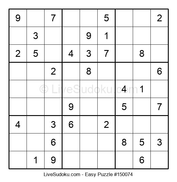 Beginners Puzzle #150074
