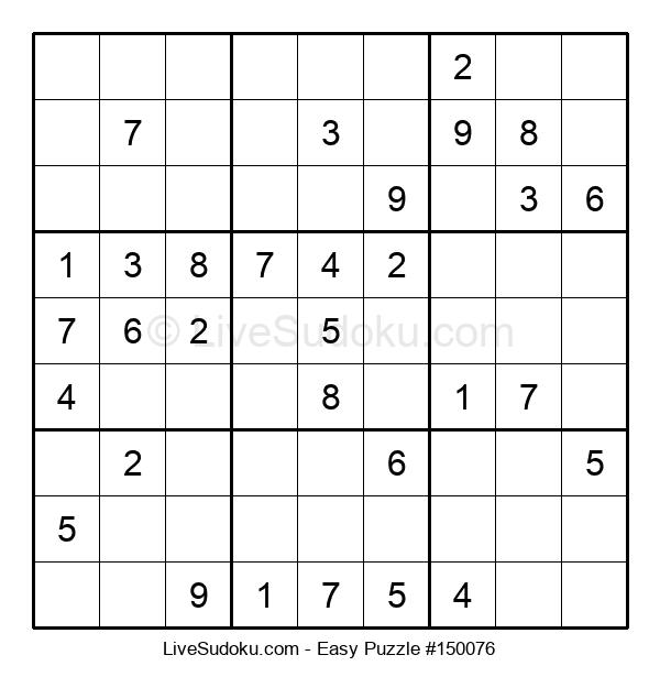 Beginners Puzzle #150076