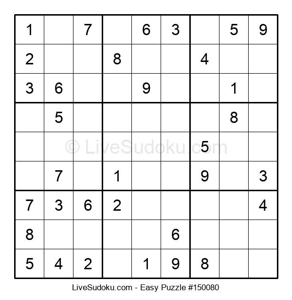 Beginners Puzzle #150080