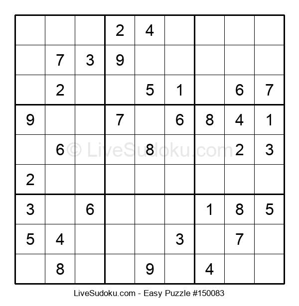Beginners Puzzle #150083