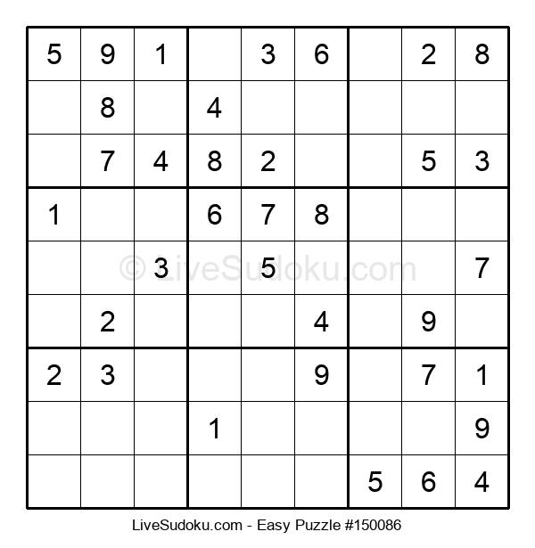 Beginners Puzzle #150086