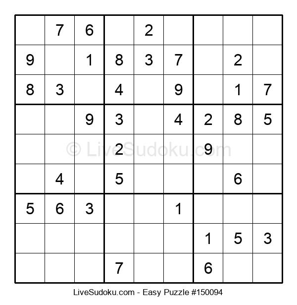 Beginners Puzzle #150094