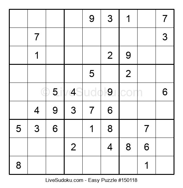 Beginners Puzzle #150118