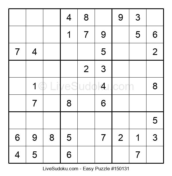 Beginners Puzzle #150131