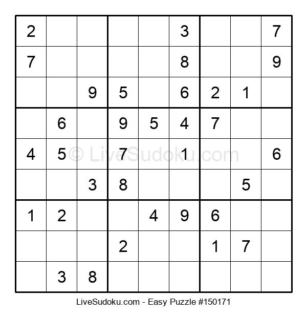 Beginners Puzzle #150171
