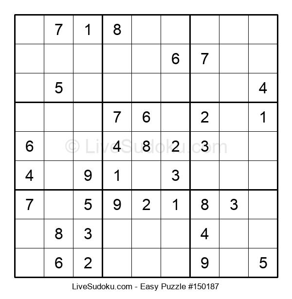 Beginners Puzzle #150187