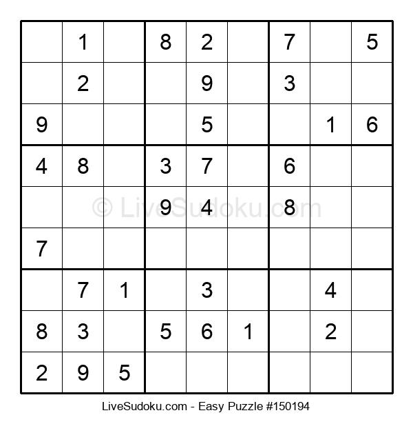 Beginners Puzzle #150194