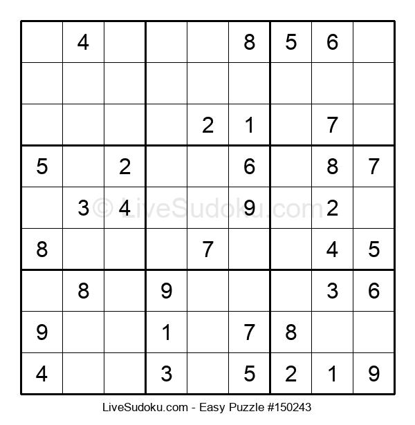 Beginners Puzzle #150243