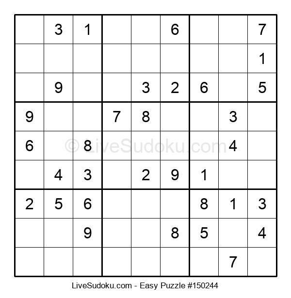 Beginners Puzzle #150244