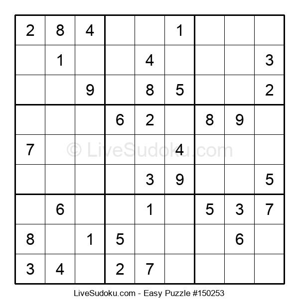 Beginners Puzzle #150253