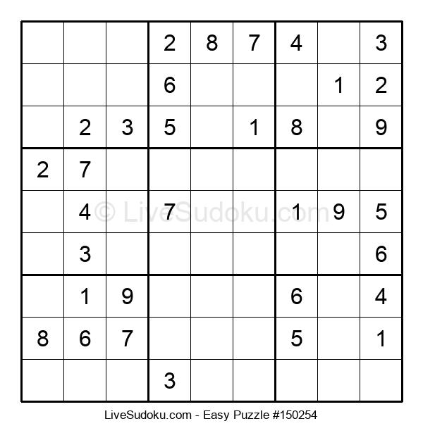 Beginners Puzzle #150254