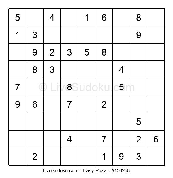 Beginners Puzzle #150258