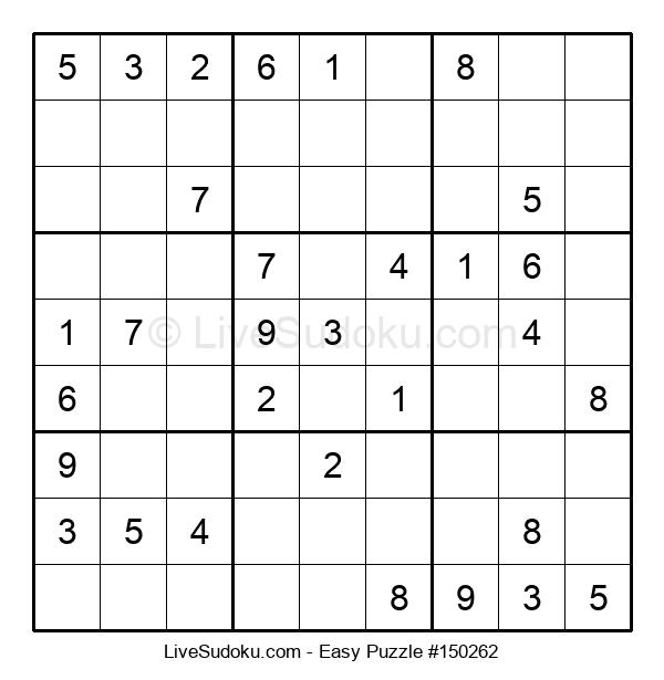 Beginners Puzzle #150262