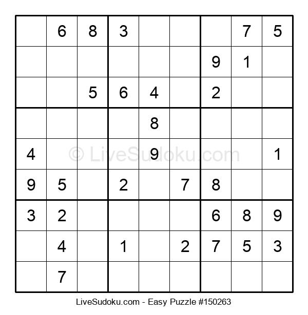 Beginners Puzzle #150263
