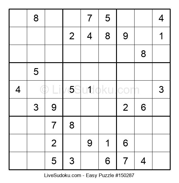 Beginners Puzzle #150287