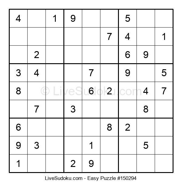 Beginners Puzzle #150294