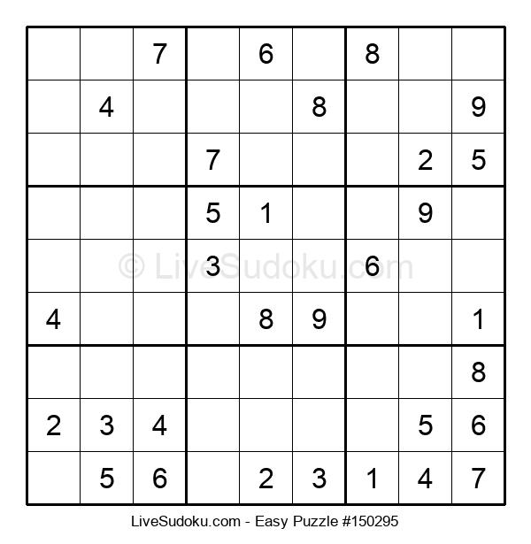 Beginners Puzzle #150295