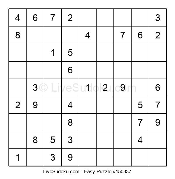 Beginners Puzzle #150337