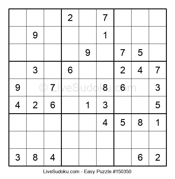 Beginners Puzzle #150350