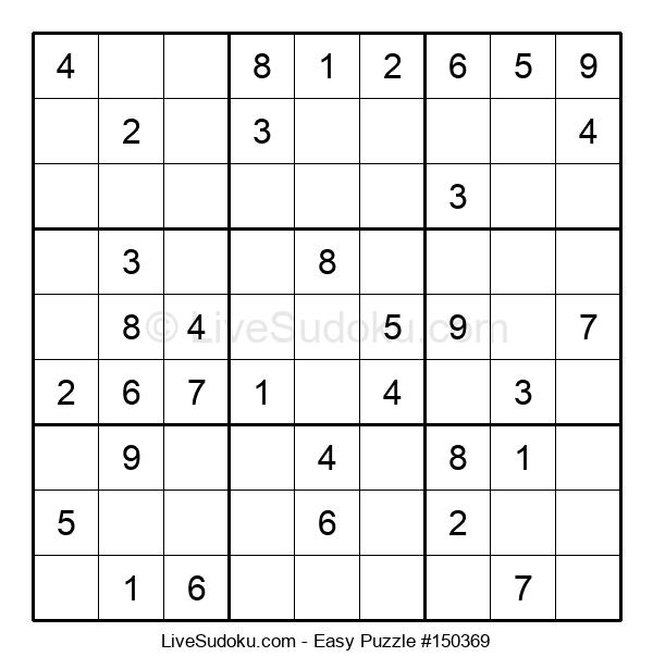 Beginners Puzzle #150369
