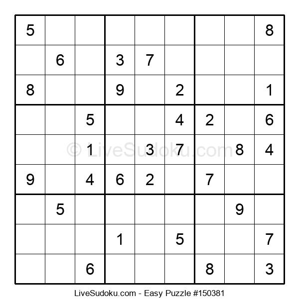 Beginners Puzzle #150381